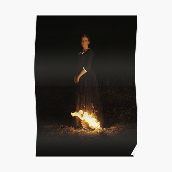 Portrait of a Lady on Fire - Textless Poster and Tapestry Poster