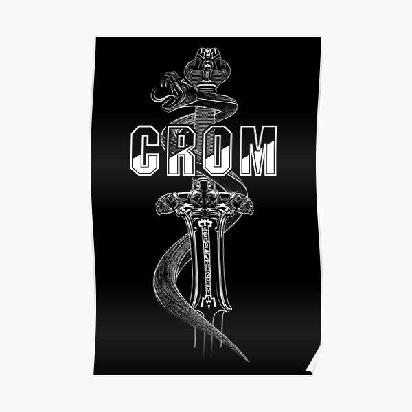 Conan Crom Sword Poster