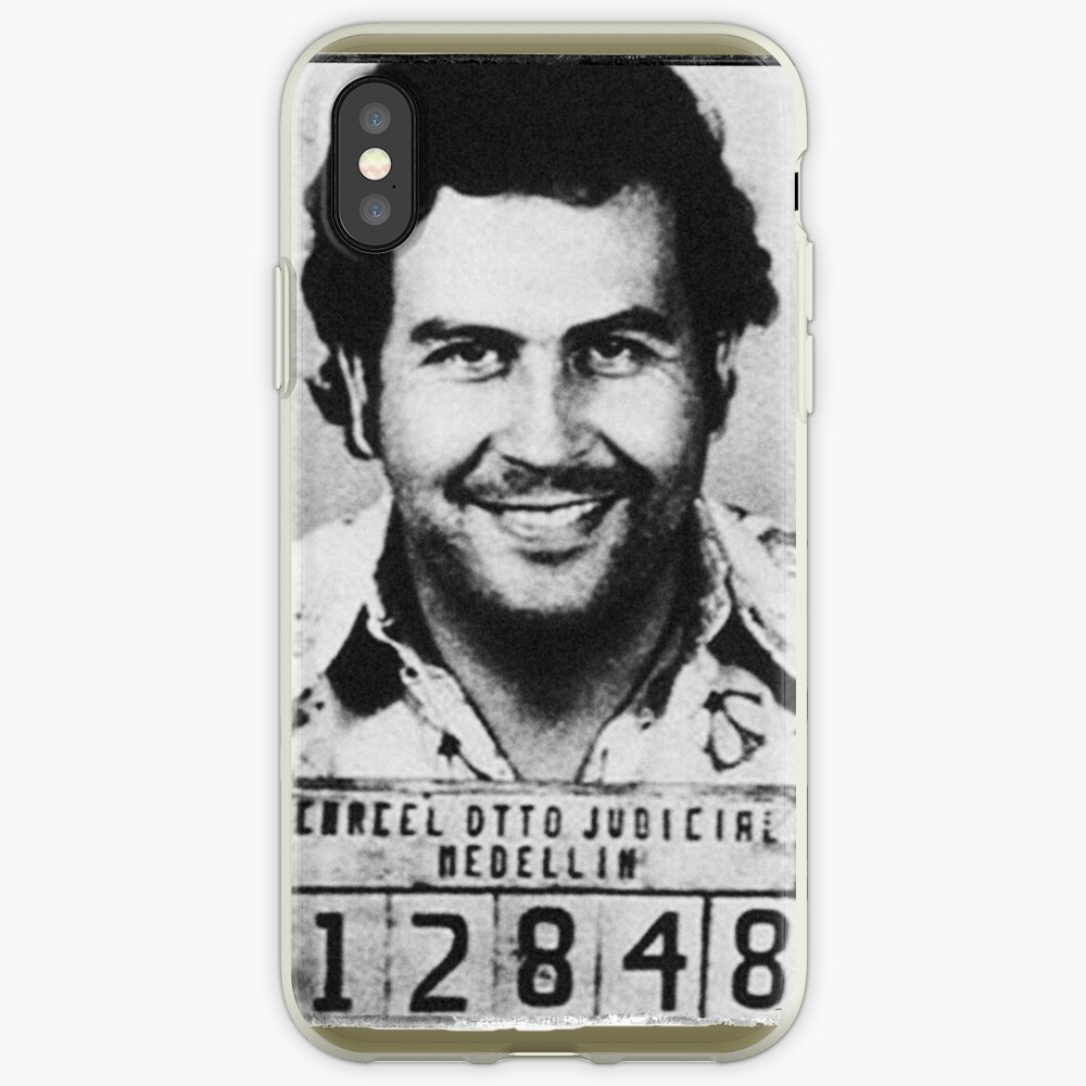 Escobar Mugshot iPhone-Hülle & Cover