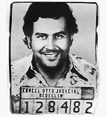 Escobar Mugshot Poster