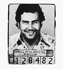 Escobar Mugshot Photographic Print