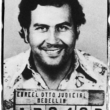 Escobar Mugshot by Rickmans