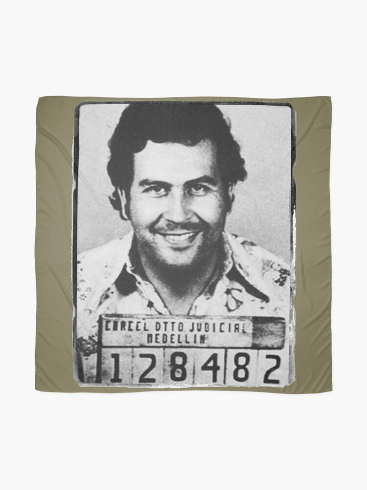 Alternative Ansicht von Escobar Mugshot Tuch