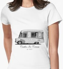 Castles Ice Cream est. 1843 Womens Fitted T-Shirt