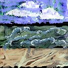 """Windy Beach Day"" by Patrice Baldwin"