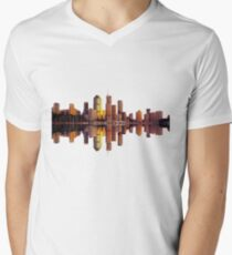 Brisbane Mens V-Neck T-Shirt