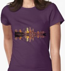 Brisbane Womens Fitted T-Shirt