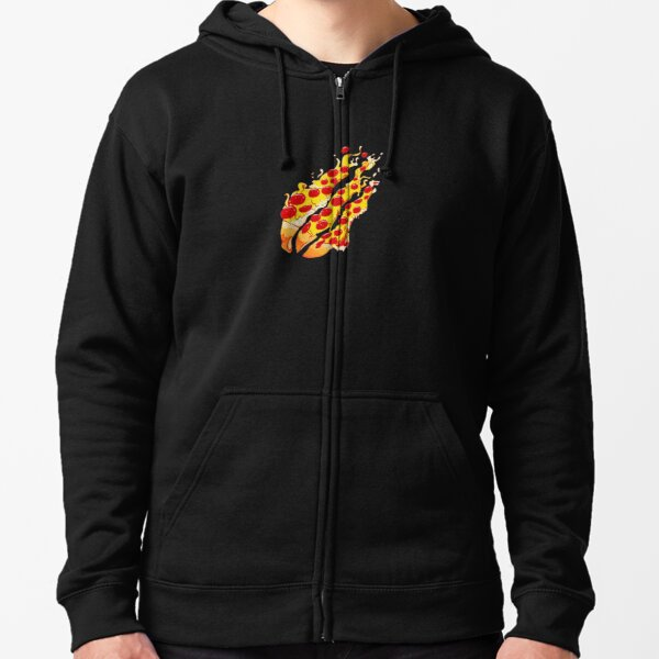 Preston playz Pizza Zipped Hoodie