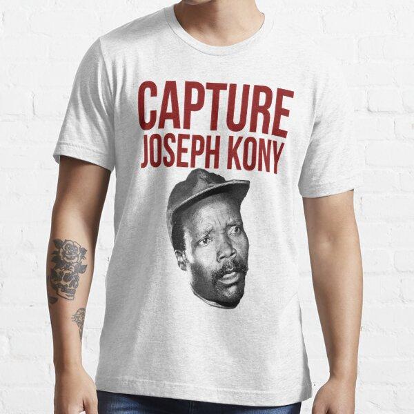 "Kony T-Shirt - ""Capture Kony"" Essential T-Shirt"