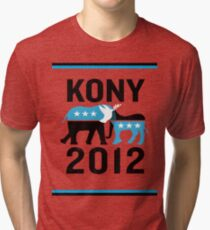 """Joseph Kony T-shirt"" Original Style T-Shirt Kony 2012 Tri-blend T-Shirt"