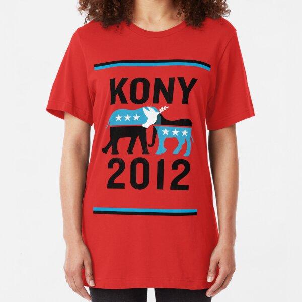 """Joseph Kony T-shirt"" Original Style T-Shirt Kony 2012 Slim Fit T-Shirt"