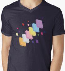 My Little Pony - Mane Six Abstraction II Men's V-Neck T-Shirt