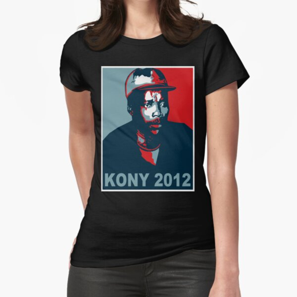 KONY 2012 Fitted T-Shirt