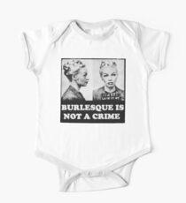Burlesque Mugshot Kids Clothes
