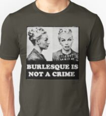 Burlesque Mugshot T-Shirt