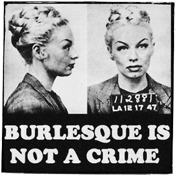 Burlesque Mugshot by Rickmans