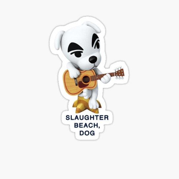 K.K. Slider x Slaughter Beach, Dog Sticker
