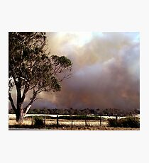 Bushfires Photographic Print
