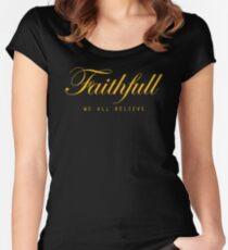 Faithfull Women's Fitted Scoop T-Shirt