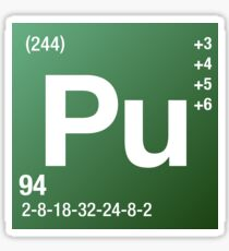 Element Plutonium Sticker
