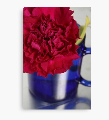 Flower Cup Canvas Print
