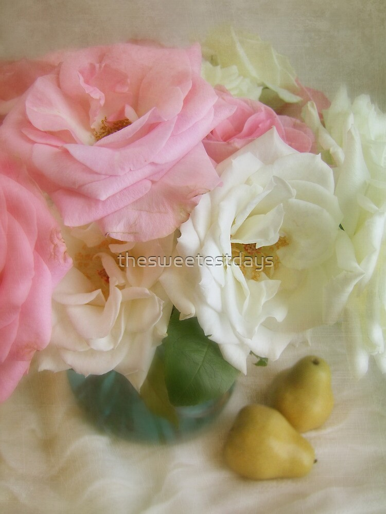 Roses & Pears by thesweetestdays