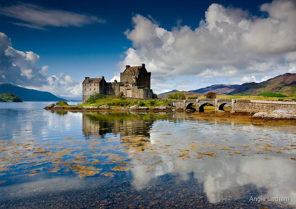 Scotland: Eilean Donan Sunshine by Angie Latham