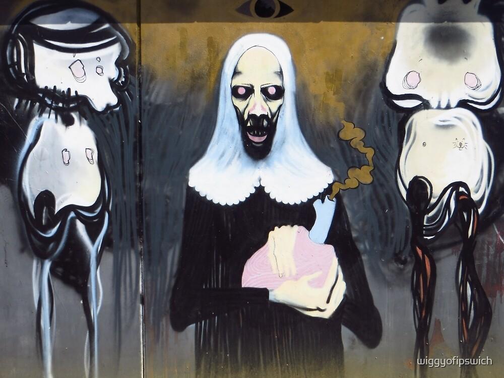 Alien Nun by wiggyofipswich