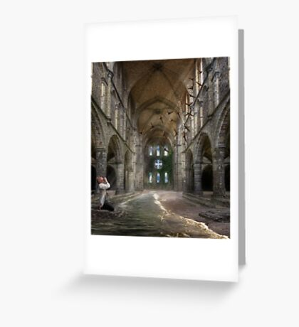 Losing My Religion Greeting Card