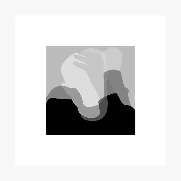 mac miller circles minimal album cover Photographic Print