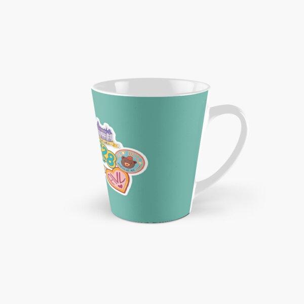 Asheville Sticker Collection Tall Mug