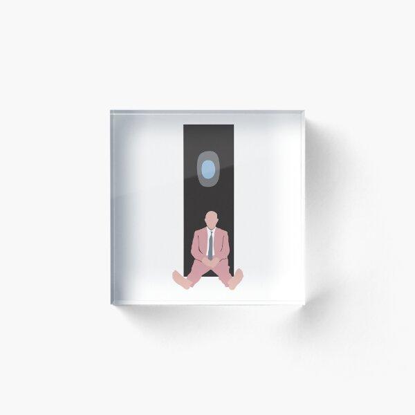 Mac Miller Schwimmen Minimal Album Cover Acrylblock