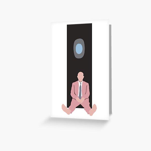 mac miller swimming minimal album cover Greeting Card