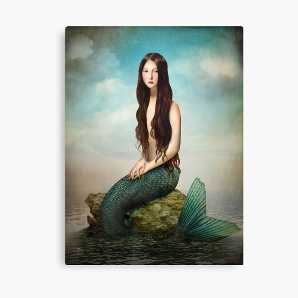 Deep Waters Canvas Print