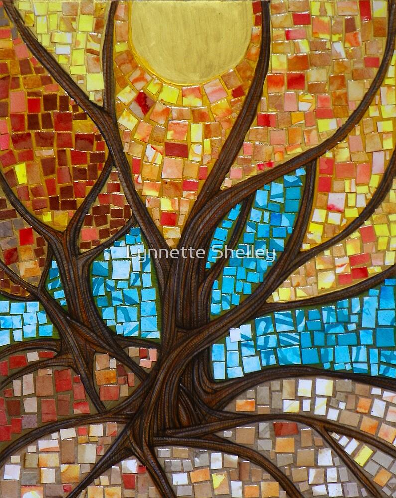 Autumnal III by Lynnette Shelley