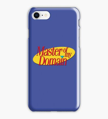 Master of my domain iPhone Case/Skin