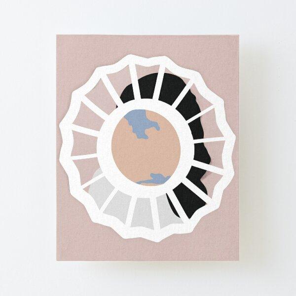 mac miller divine feminine minimal album cover Canvas Mounted Print