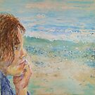 Reminiscing (Self Portrait) by Jennifer Ingram