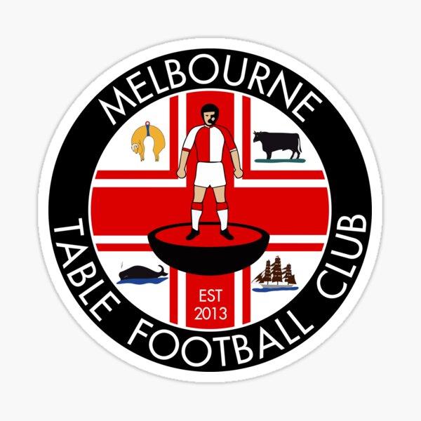 Melbourne Table Football Club Logo Sticker