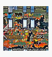 Colorful Wall  Photographic Print