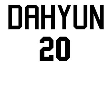 TWICE - DAHYUN 20 by baiiley