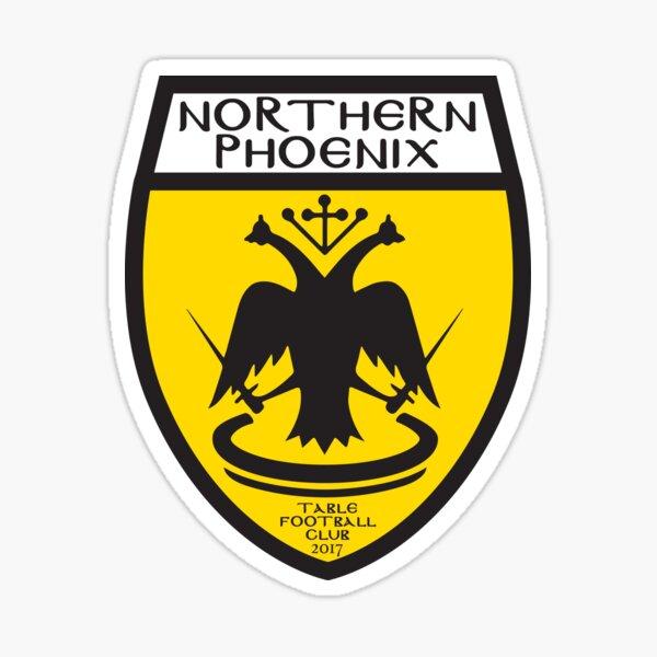 Northern Phoenix Table Football Club Logo Sticker