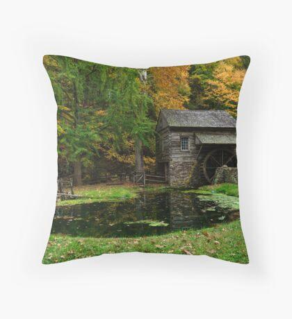 Autumn At Cuttalossa Farm I Throw Pillow