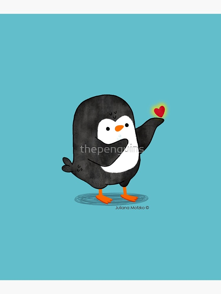 Spreading Love Penguin by thepenguins