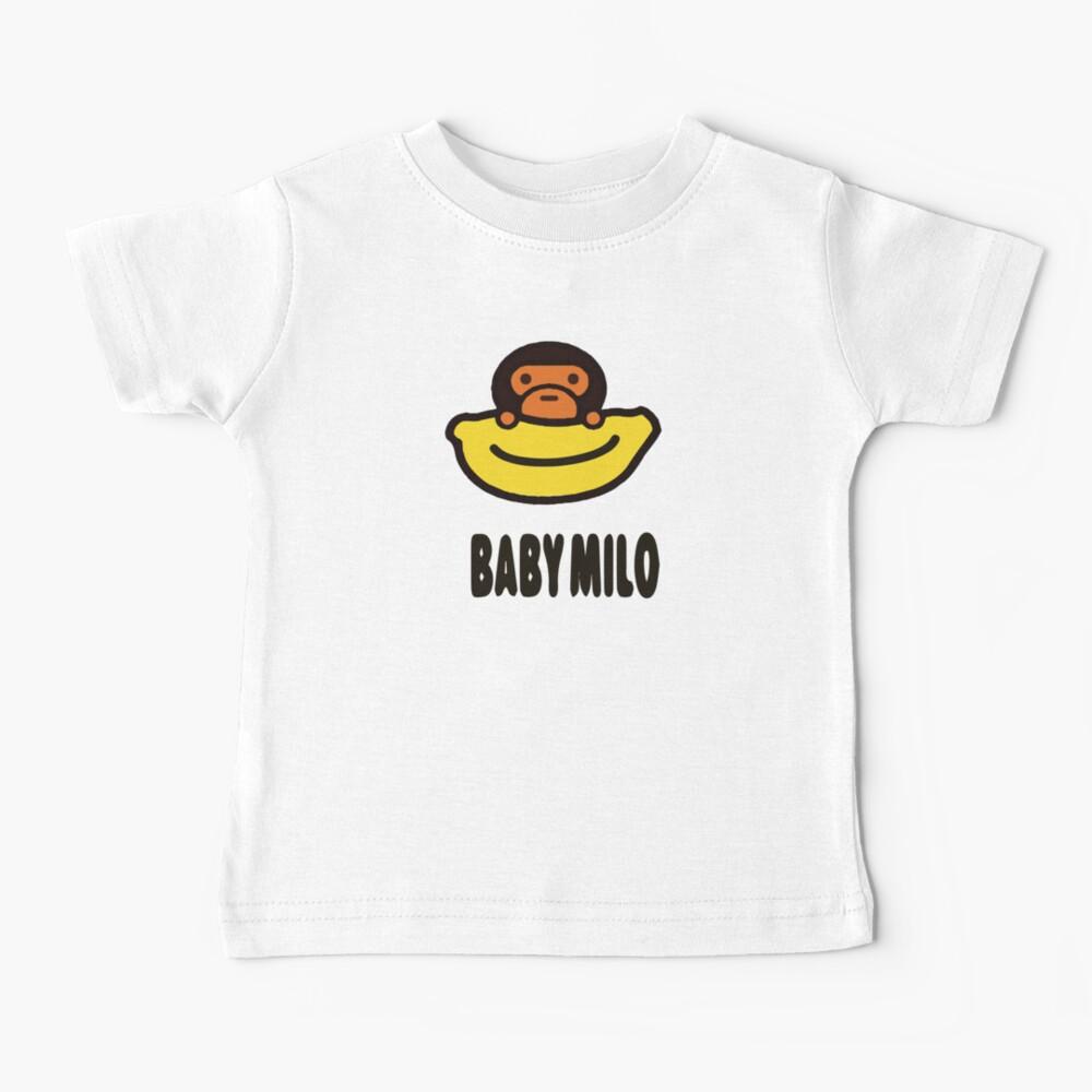 Baby Milo Cute Sticker Baby T-Shirt