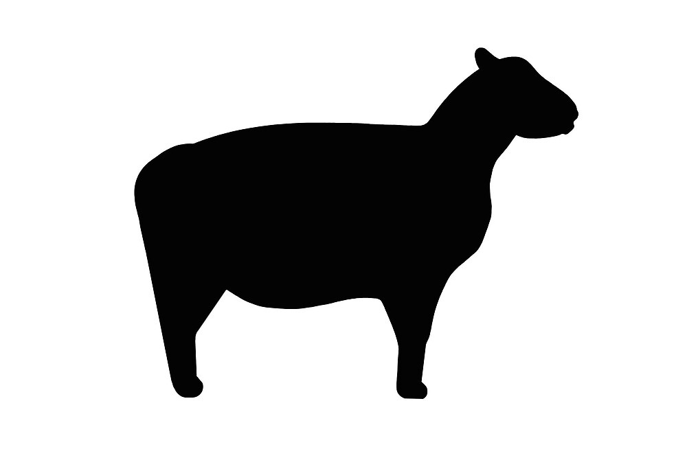 """Sheep silhouette"" by naturaldigital | Redbubble"