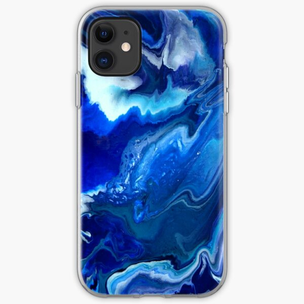 Beautiful Corded Leather Turquoise Fractal Bangles iphone 11 case