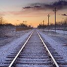 Train Tracks and Color by Bo Insogna