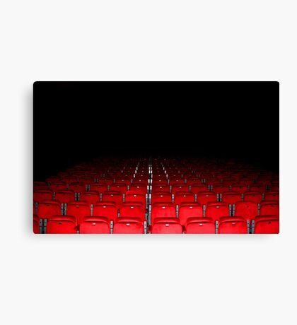 Time to take your seat. Canvas Print