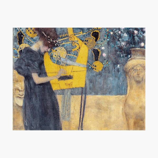 Gustav Klimt - Musique Impression photo